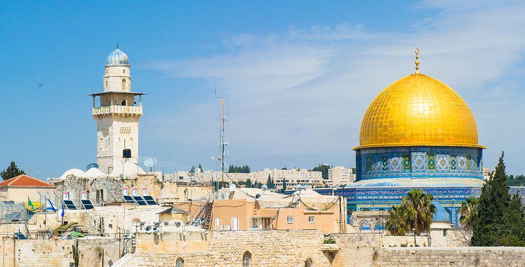 Visit holy cities like Jerusalem