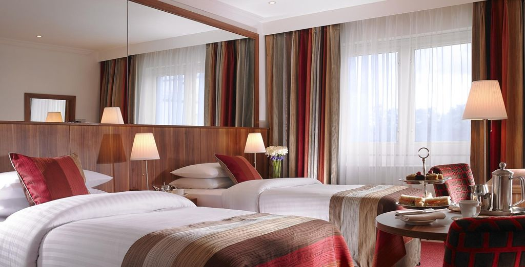 Or opt for a cosy Twin room, featuring two twin beds