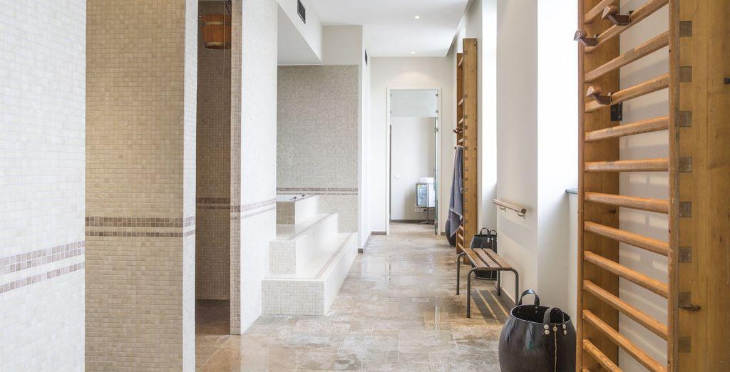 Including an elegant contemporary spa
