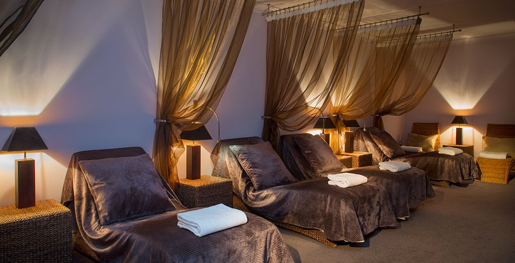 Our offer includes complimentary access to the spa