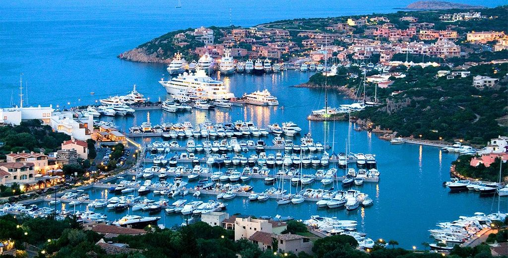 And check out the elegant bars, cafes and shops of Porto Cervo