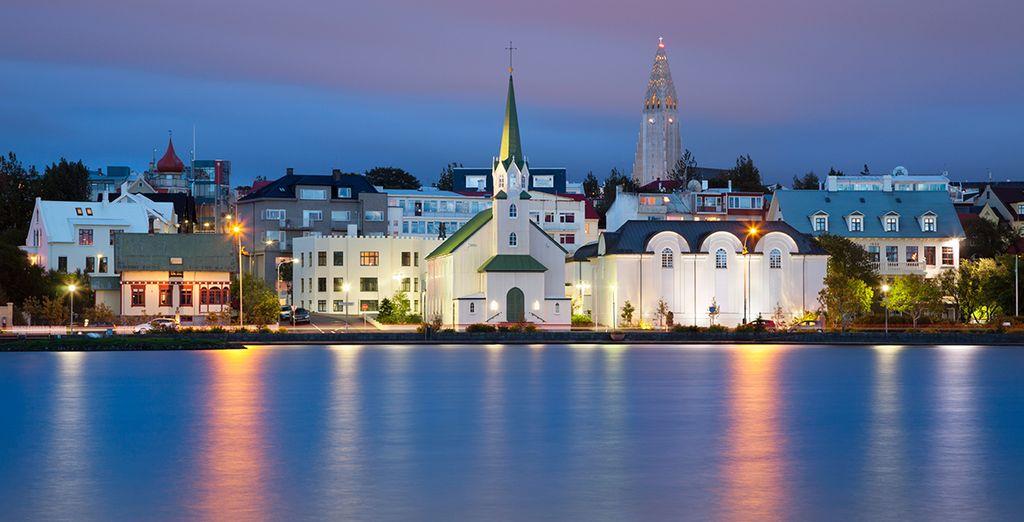 Your adventure begins in cosmopolitan Reykjavik