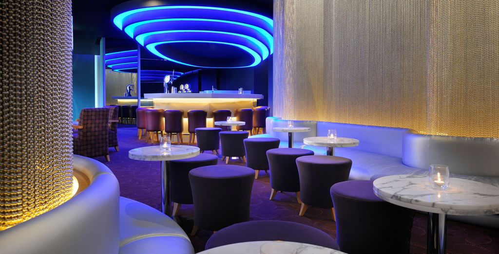 Chill out in the sophisticated bar