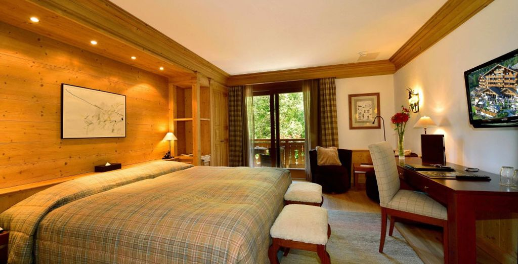 Enjoy an Executive Room with a Park View