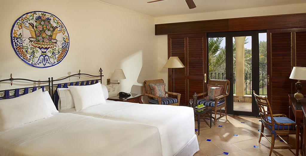 Sleep in a freshly decorated Melia Room