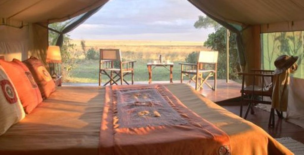 With an amazing Lodge experience