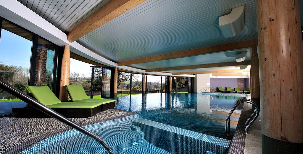 Enjoy a dip in the pool!