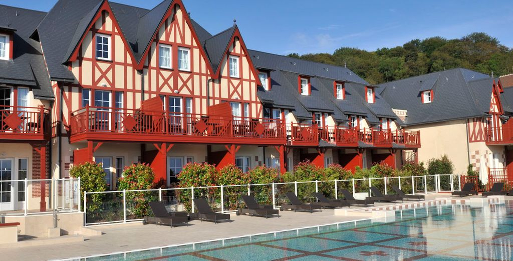 Book a stay at the Pierre & Vacances Premium Houlgate Residence & Spa