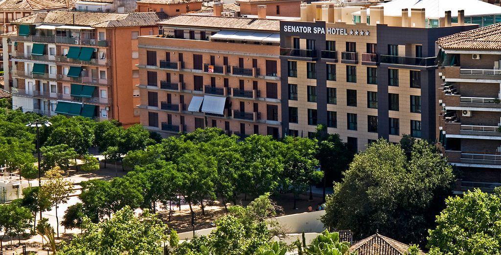 Stay at the Senator Granada Spa Hotel