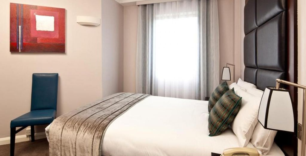 Guests can enjoy a choice between a Double Room