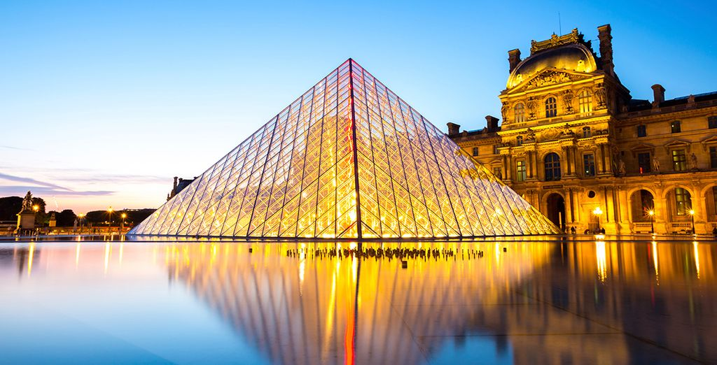 Visit some of the world-famous galleries like the Louvre
