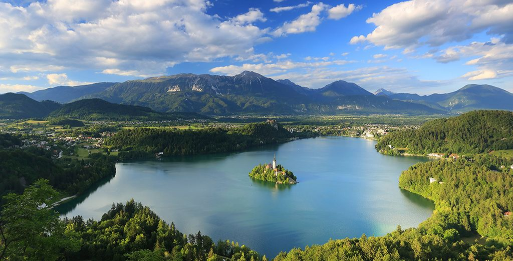 OR you could take a daytrip to stunning Lake Bled