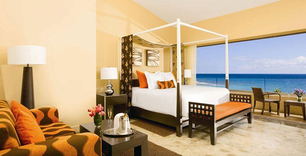 Stay in the Deluxe Ocean View Room - Dreams Puerto Aventuras Resort & Spa***** - Riviera Maya - Mexico Riviera Maya
