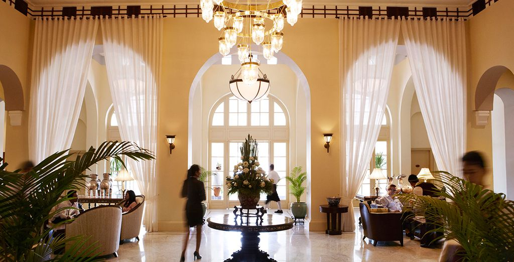 You will stay at luxurious 5* hotels throughout