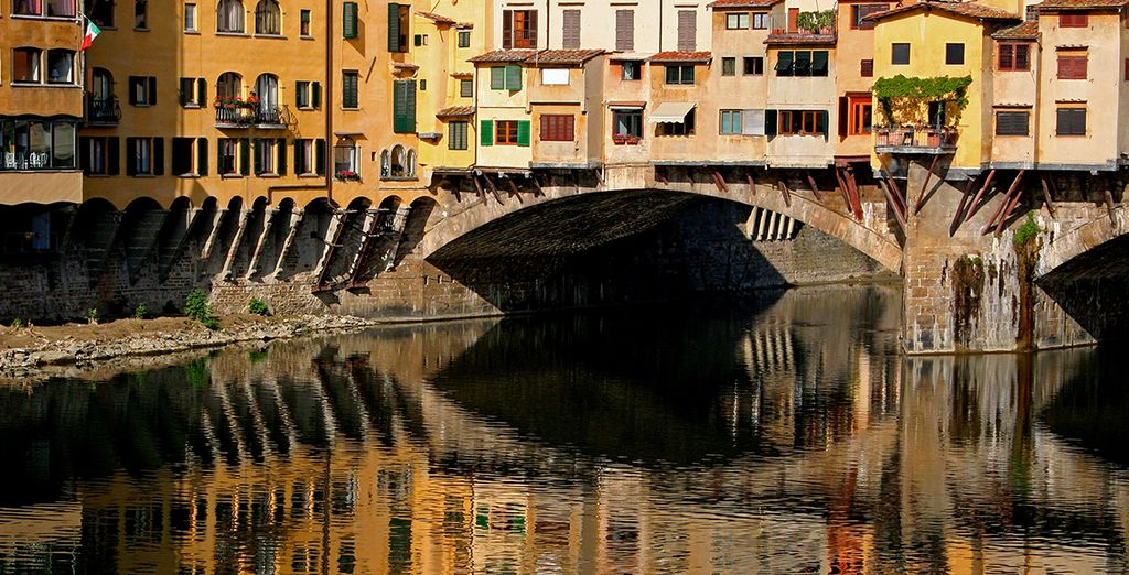 Or maybe even make a day trip to the magical sights of Florence!
