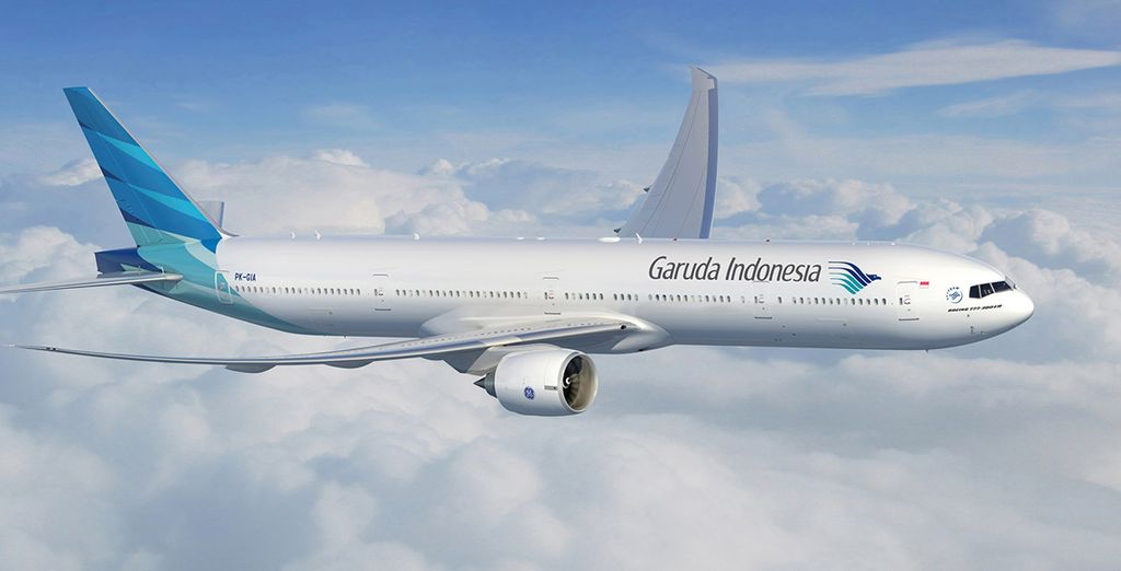 Choose flights with Garuda Indonesia to start your trip in style