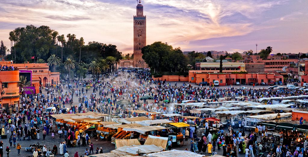 Located on the famous Jemaa El Fna Square