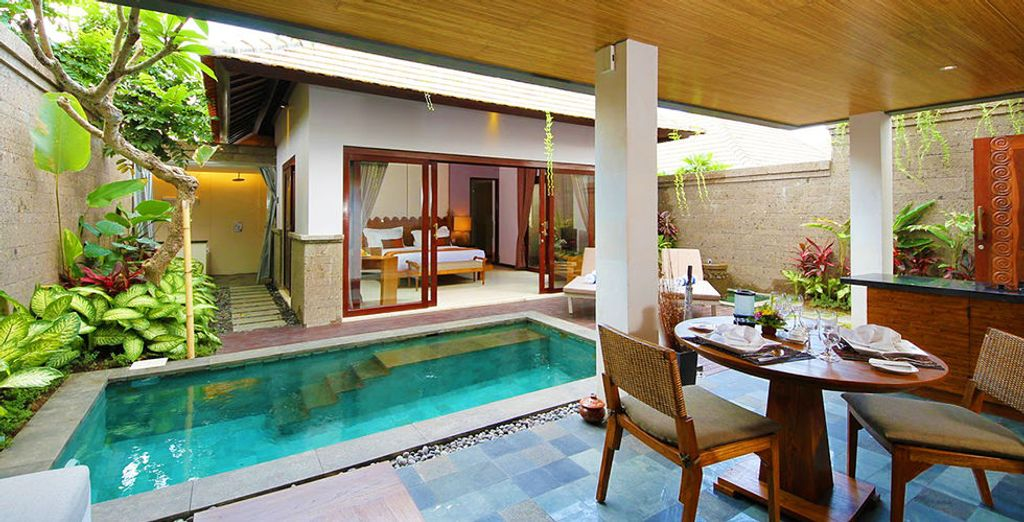 Your private pool villa awaits