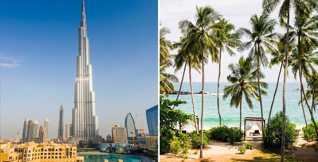 Discover dazzling Dubai and blissful Sri Lakan beaches, on this twin centre trip