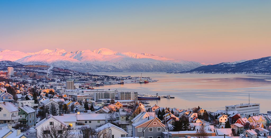From the captivating city of Tromsø - 200 km from the North Pole