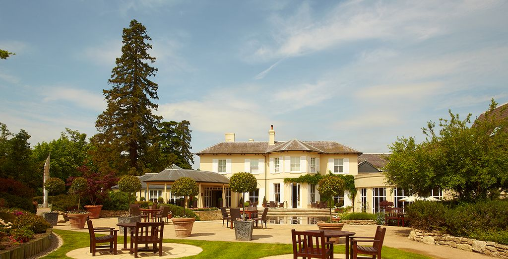 In a wonderful 5* property nestled in Newbury - The Vineyard at Stockcross 5* Berkshire