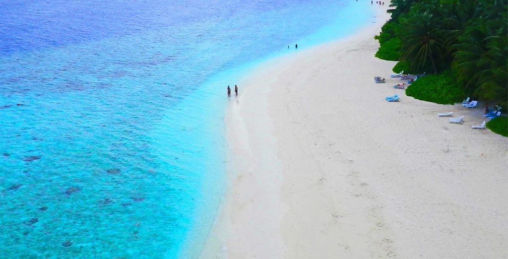 And the magic of the Maldives