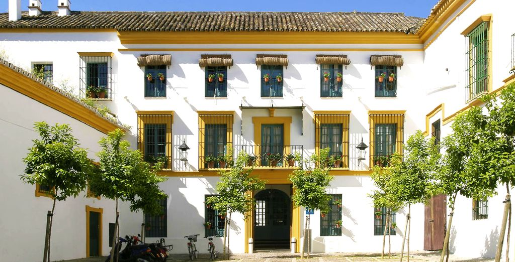 Expect charming Andalusian style