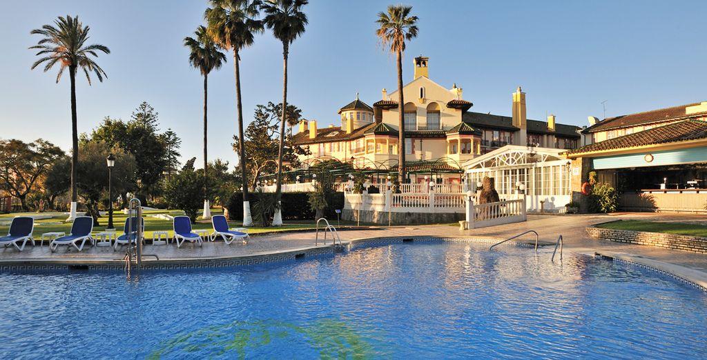 Historic charm at the Globales Reina Cristina Hotel