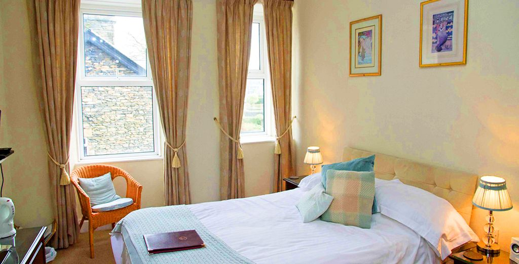Where our members may choose from a Standard Room..