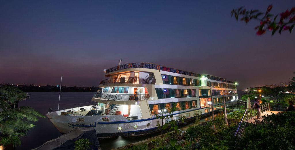 Climb aboard the superb MS Amwaj