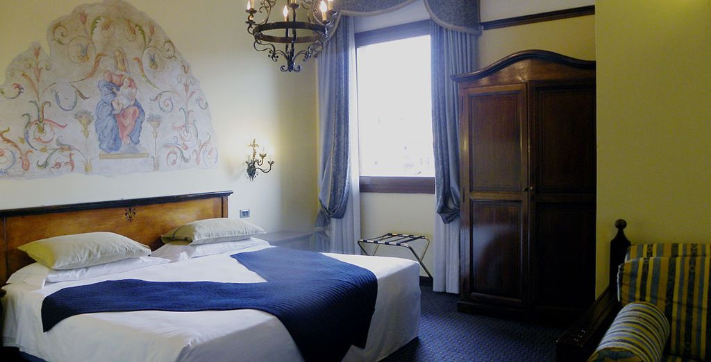 Our offer includes a 2 night hotel stay