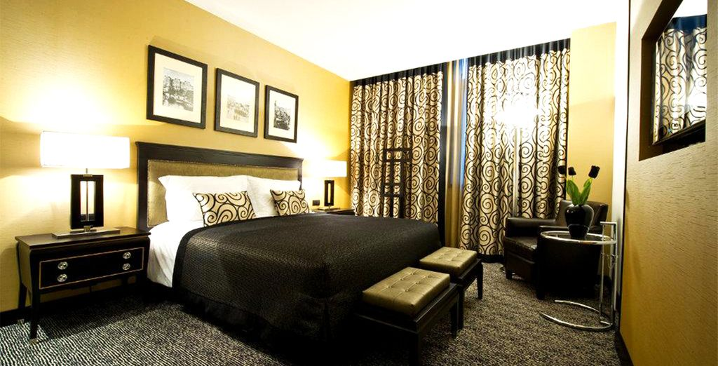 Our members will stay in a stylish Suite
