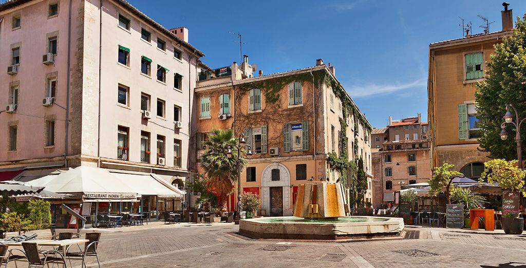 You will visit some wonderful cities such as Marseille