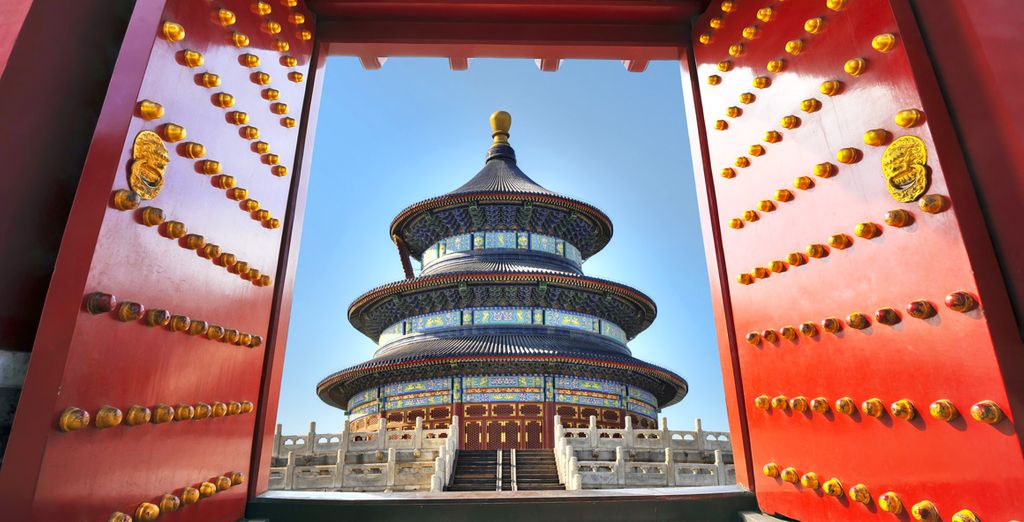 And the harmonious Temple of Heaven