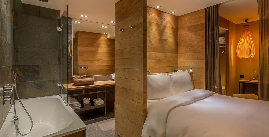 This hotel is home to a unique style (pictured: Sensation Room)
