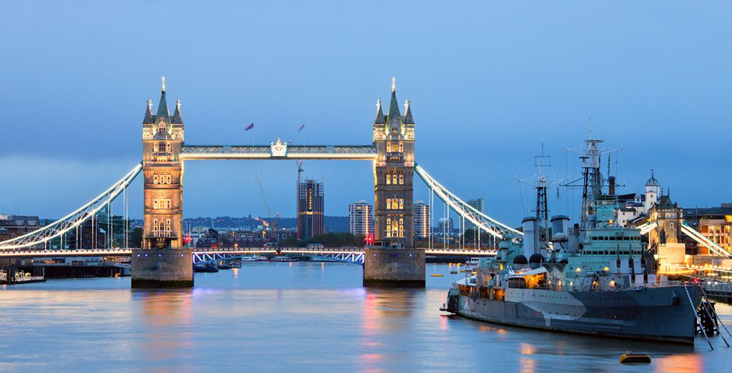 And stay in an iconic London location - Wicked & The Tower Hotel 4* London