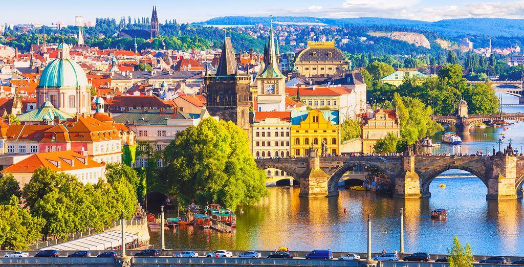 Enjoy beautiful Prague