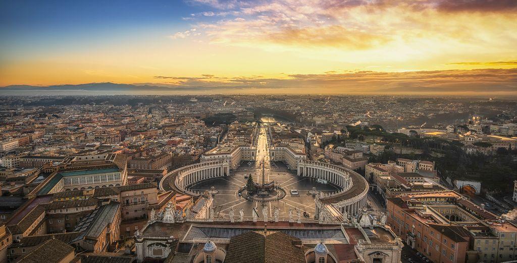 Centrally located design hotel in Rome