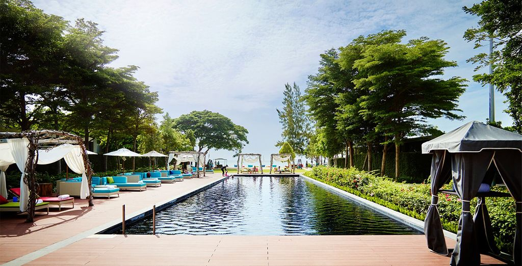 For relaxation at the SO Sofitel Hua Hin