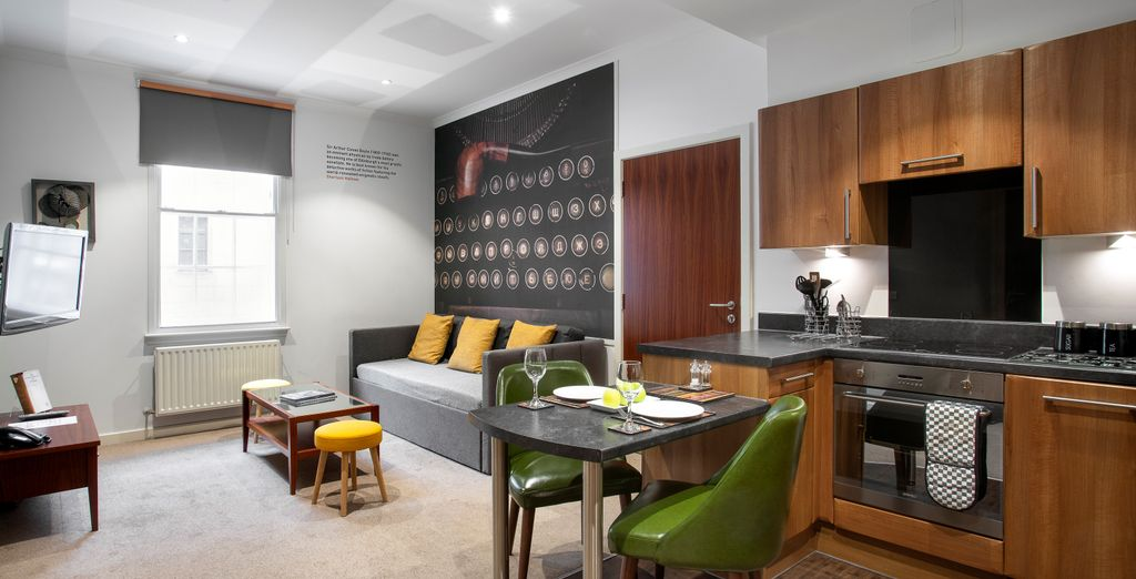 Stewart Aparthotel Edinburgh 4* - new year breaks in Edinburgh