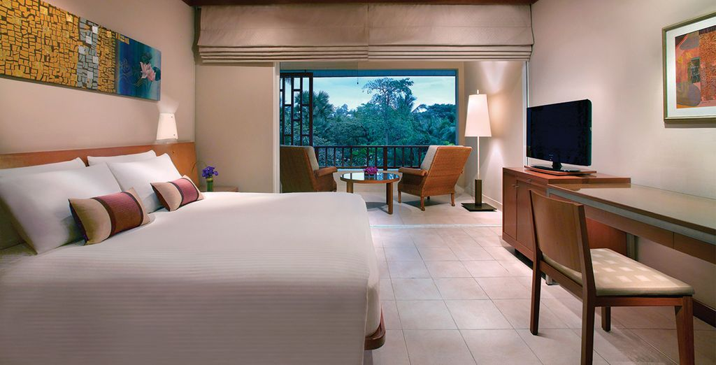 Where you have a choice of 2 luxurious room types