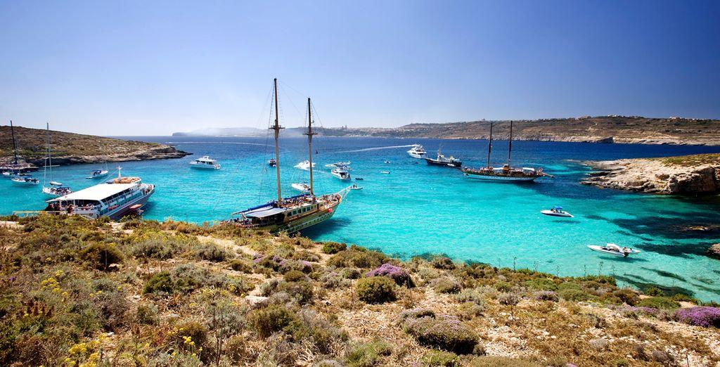 In this wonderful Mediterranean paradise