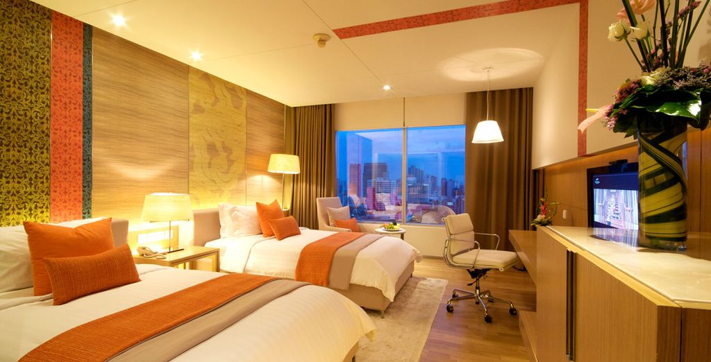 Where you will enjoy a stay in a Superior Room