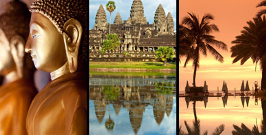 - Thailand & Cambodia Triple Centre***** - Bangkok, Siem Reap & Hua Hin Bangkok