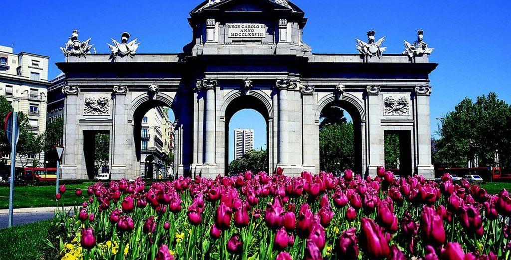 Including beautiful landmarks