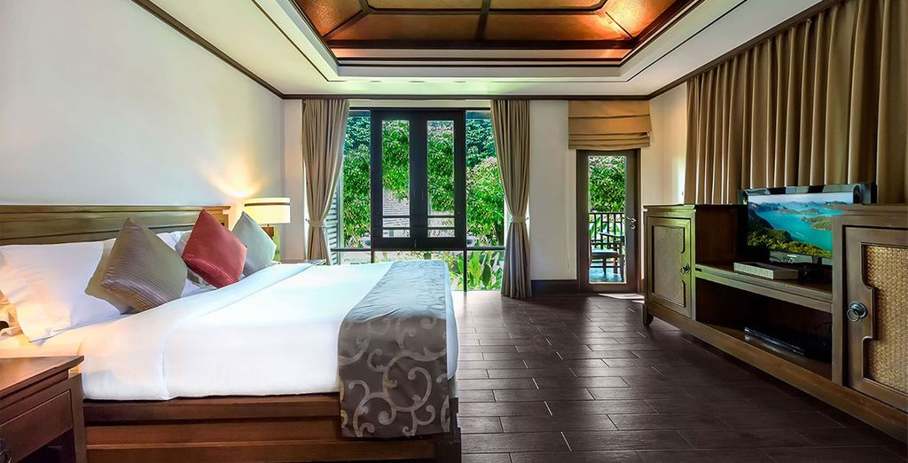 Our members will be staying in a Deluxe Hillside Room