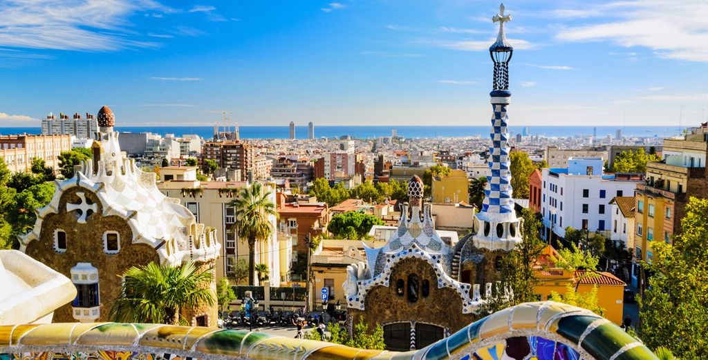 Or choose the vibrant Gaudi architecture of Barcelona