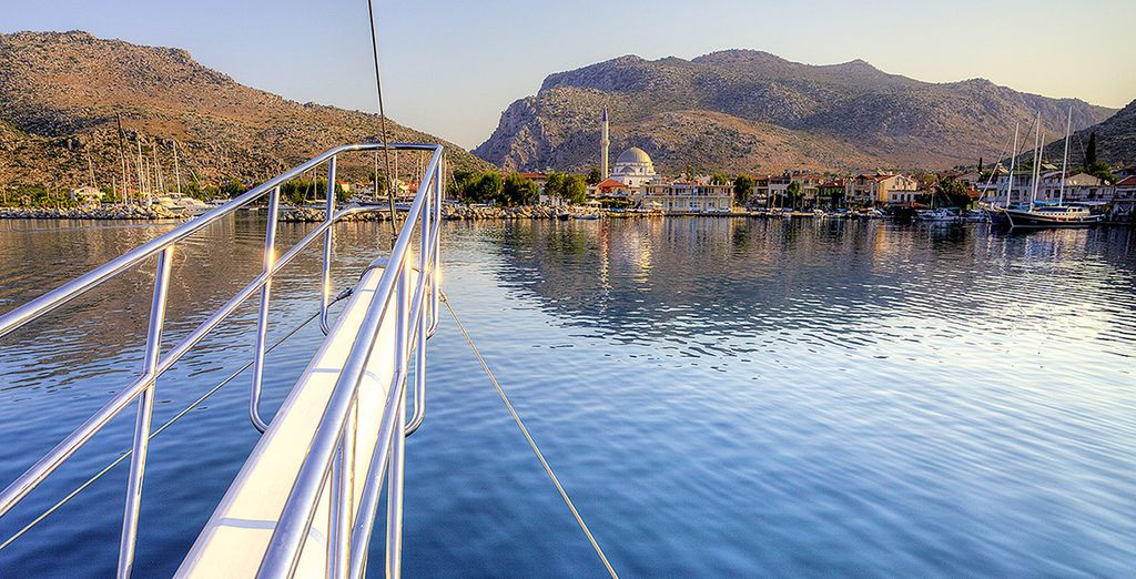 beautifully crafted from wood... - Seyhan Jan - Gulet Cruise - Turkey Marmaris