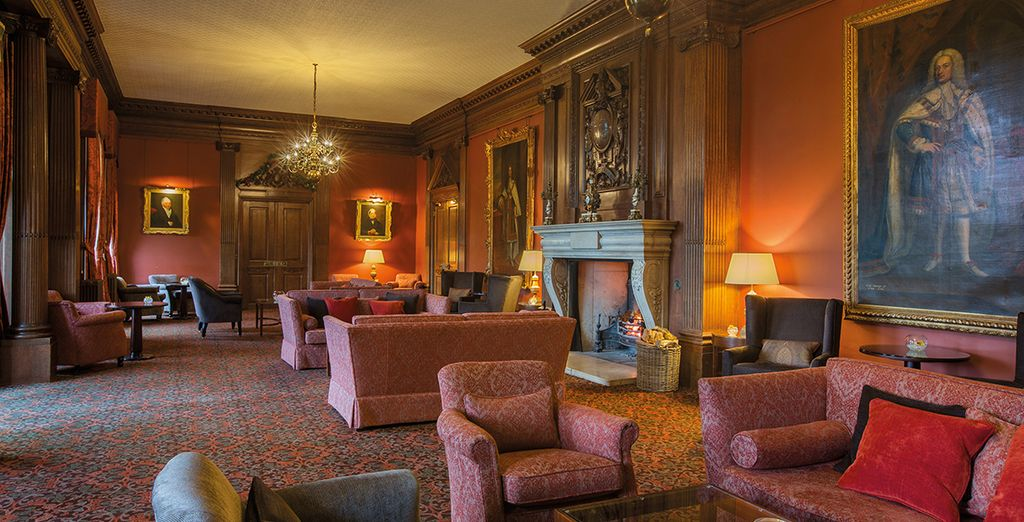 Here you will find ornate and stately decor and a warm ambiance