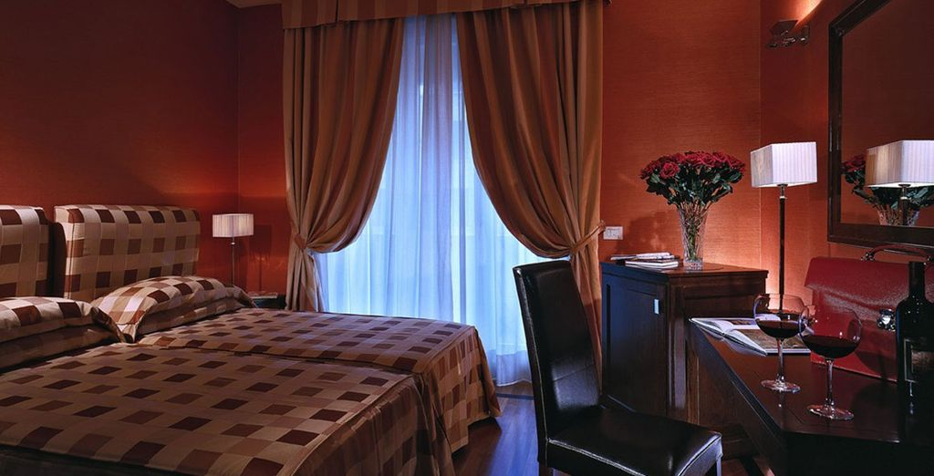 Enjoy a fabulous stay - Grand Hotel Adriatico**** - Florence - Italy Florence